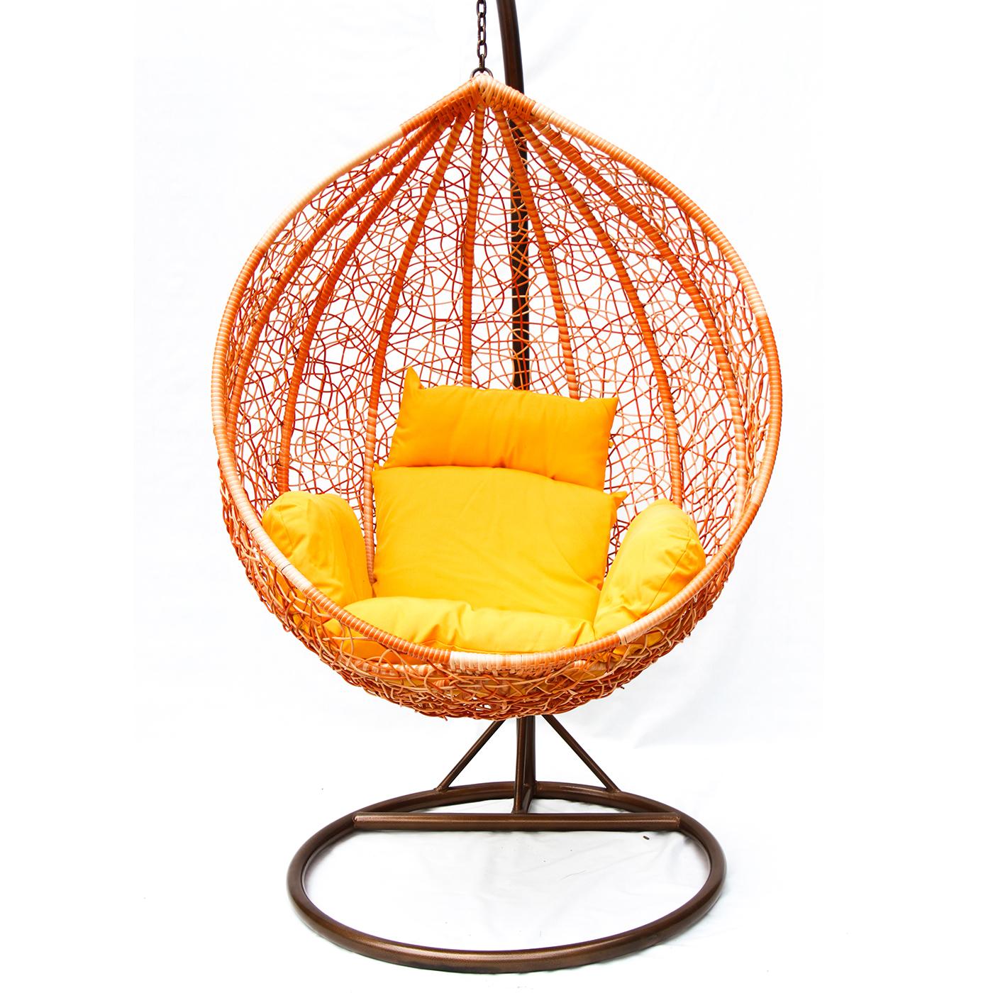 Кресло качели для дачи